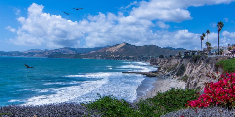 California Coastline North of Pismo
